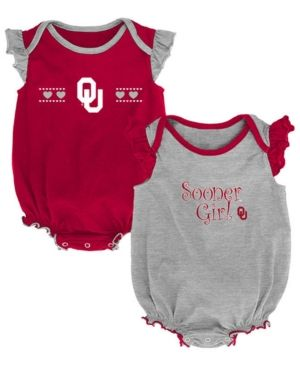 OuterStuff Ohio State Buckeyes Infant Assist 3-Piece Creeper Set