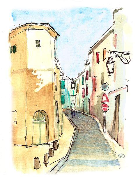 Aquarelle Street