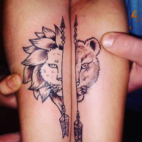 61+ Cute Couple Tattoos Ideas - Jessica Pins