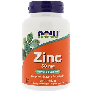 Now Foods Zinc 50 Mg 250 Tablets Now Foods Healthy Aging Nutrition Recipes