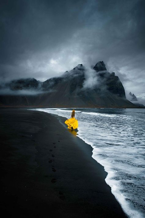 Stokksnes Is The Most Incredible Black Beach In Iceland | Iceland travel tips | Black sand beaches in Iceland