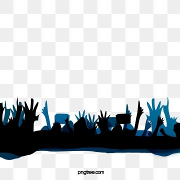 Stage Lighting And Cheering Crowd Silhouette Vector Material Stage Stage Lighting Light Vector Png Transparent Clipart Image And Psd File For Free Download Silhouette Vector Banner Background Images Stage Lighting