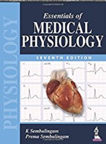 Download Sembulingam Physiology pdf 7th Edition Free
