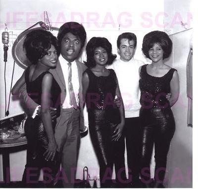 The Supremes With Little Richard With Images Diana Ross