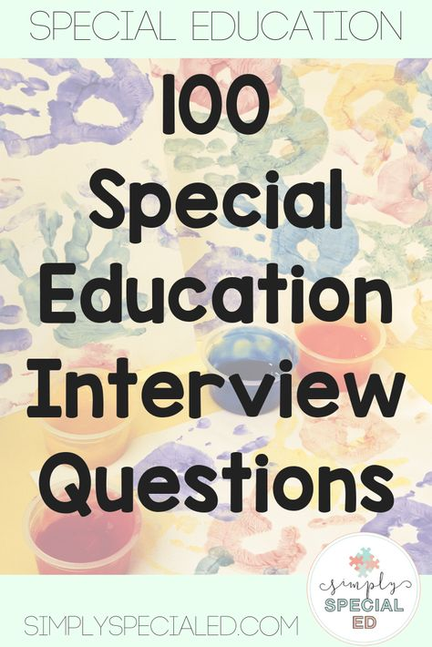 Interview Prep for Special Education Teachers - Simply Special Ed