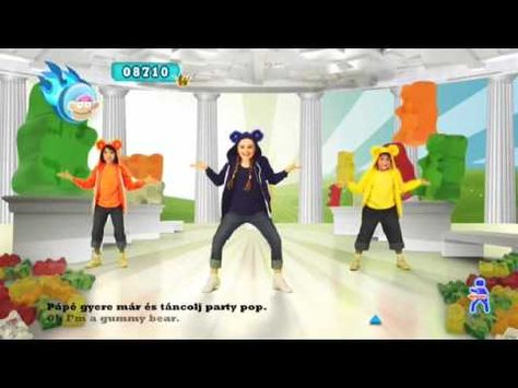 Just Dance Kids videos on YouTube. Great kinder/first movement songs.