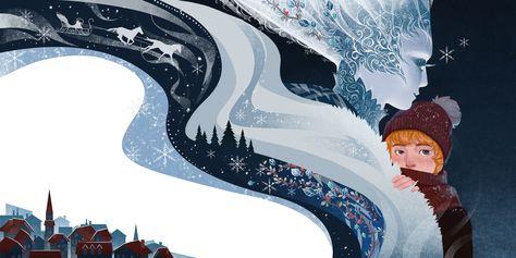 Christmas Fairy, Snow Queen, Book Illustration, Folklore, Fantasy Art, Fairy Tales, Queen Art, Terra, Gallery