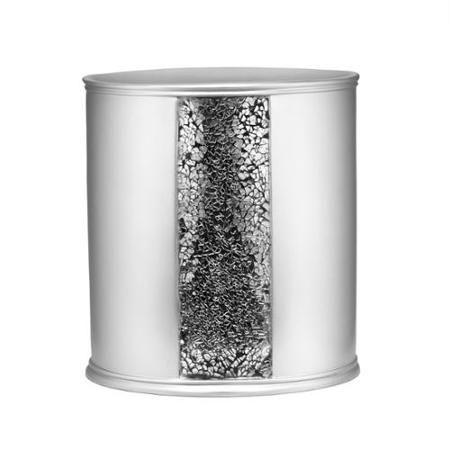 Indecor Home 20-Piece Black Lattice Guest Napkin Set
