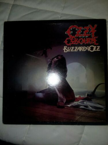 My Ebay Active Ozzy Osbourne Blizzard Of Ozz Black Sabbath