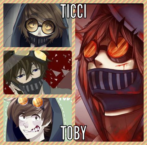 List of Pinterest ticci toby x reader creepy pasta pictures