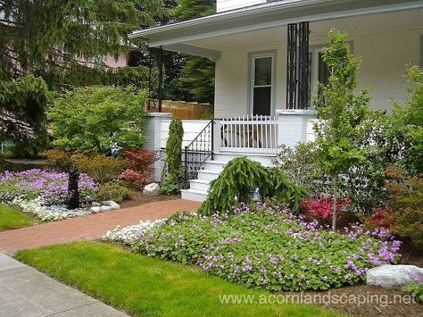 Front Yard Landscape Designs Ideas