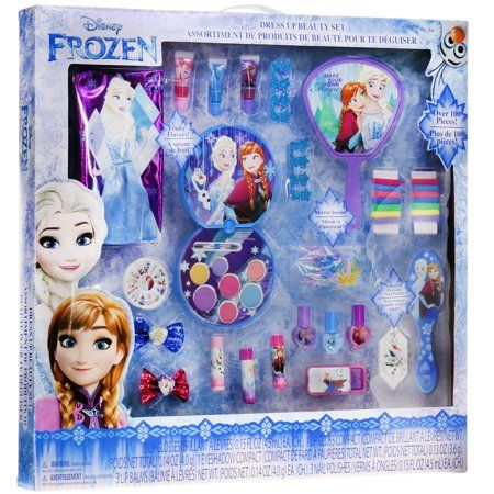 Disney Frozen Mega Cosmetic Set Walmart Com Frozen Dress Up Frozen Dress Disney Frozen