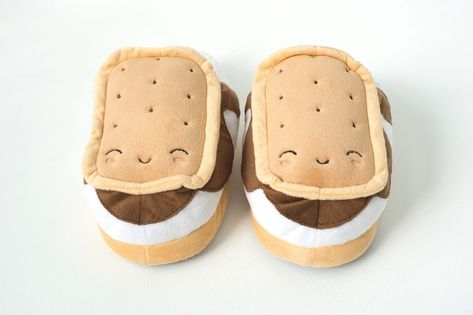 0e2f496d8590 Footwarmer - S mores USB Heated Plush Slippers