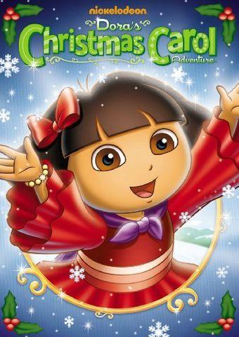 Dora The Explorer Doras Christmas Carol Adventure Dvd Jpg Dora The Explorer Christmas Carol Christmas Movies List