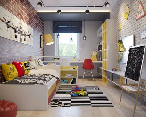 Child Room Dizajn Viz Oglan Cocugu Odalari Yatak Odasi