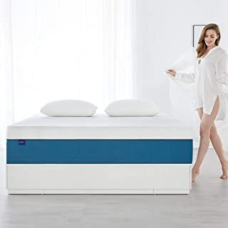 Queen Size Mattress Molblly 10 Inch Cooling Gel Memory Foam Mattress In A Box Breathable Bed Mattress With Certipur Us Certified Foam For Sleep Supportive Pre