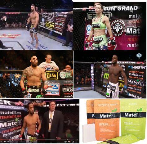 UFC Fight Night Sponsored By MateFit Teatox Company