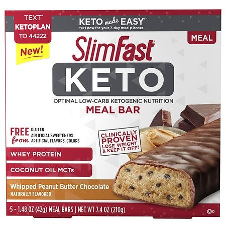 Walgreen S Slimfast Keto Hustle Girl In 2020 Meal Replacement Bars Keto Meal Replacement Keto Diet