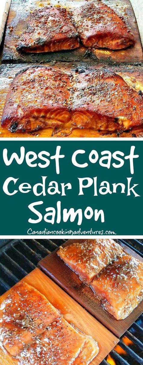 West Coast Cedar Plank Salmon