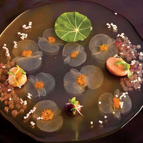 Ferran Adria Explains El Bulli S 50 Step Soup Arte De La Comida