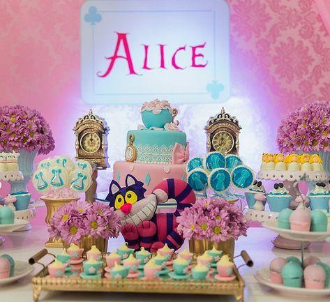 Festa Alice No Pais Das Maravilhas As Melhores Ideias Aqui Com