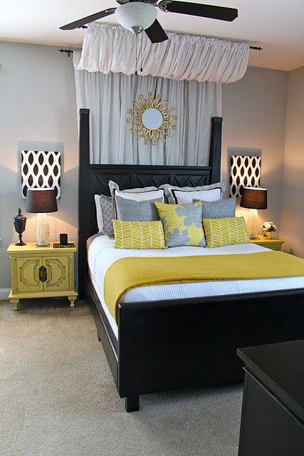 Lit Baldaquin Chambre Romantique Decoration Ambiance