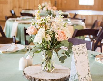 Etsy Your Place To Buy And Sell All Things Handmade Rustic Wedding Decor Rustic Wedding Centerpieces Wedding Table Decorations Centerpieces