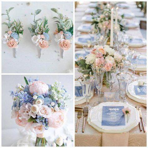 Blue boutonniere, Groomsman boutonniere, Blue Wrist corsage, Woodland wedding, Flower wrist corsage is part of Blue themed wedding -