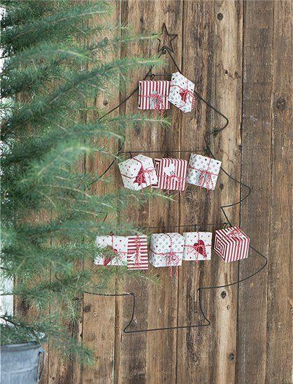 Weihnachtskalender Tannenbaum.Adventskalender Tannenbaum Von Ib Laursen Aus Metall Dekorativ