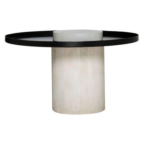 Podio Coffee Table Black White White Furniture Living Room Coffee Table Furniture