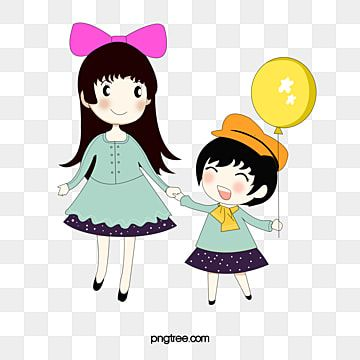Cartoon Sisters Cartoon Clipart Sisters Animation Png Transparent Clipart Image And Psd File For Free Download In 2021 Cartoon Clip Art Anime Sisters Cartoon Background
