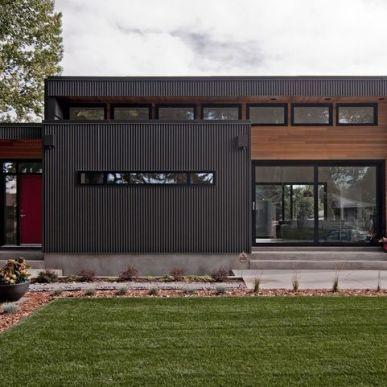 Inspiring Metal Buildings Design Ideas For Stylish And Modern Buildings 35 Metal Building Designs Metal Siding House Steel Building Homes
