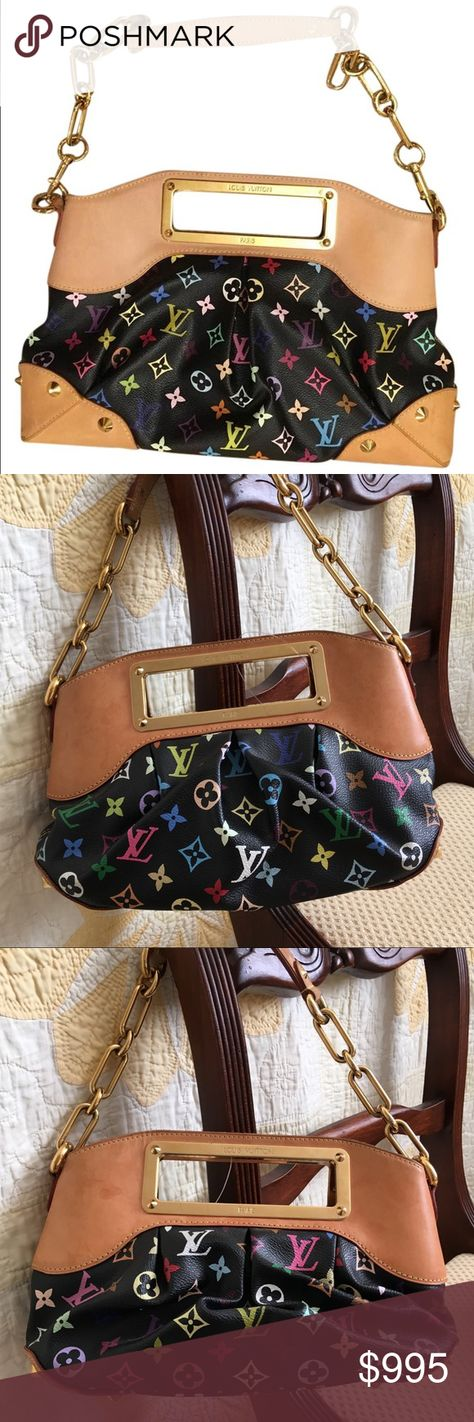 a4375f59cd60 Louis Vuitton Judy MM Multicolore Bag Such a cute bag! Vintage LV bag from  the