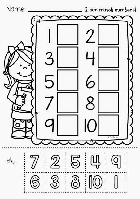 A Little Bit Of Zoo And A Hullabaloo In 2020 Kindergarten Math Numbers Preschool Prek Math Preschool cutting worksheet free