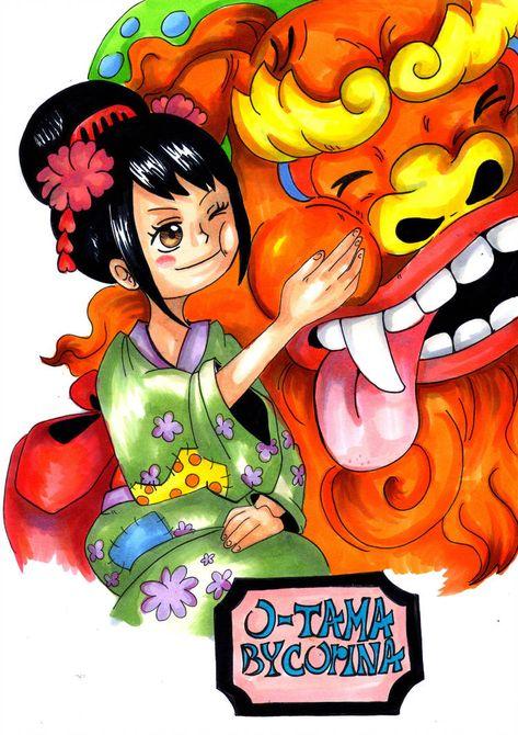 O-Tama ONE PIECE by PrincessPokemon   Аниме