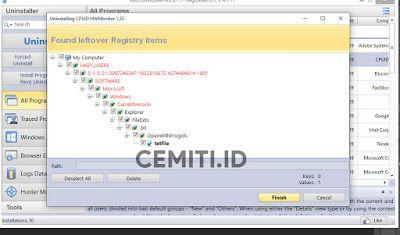Cara Uninstall Aplikasi Komputer Menggunakan Revo Uninstaller Cemiti Aplikasi Penghapus