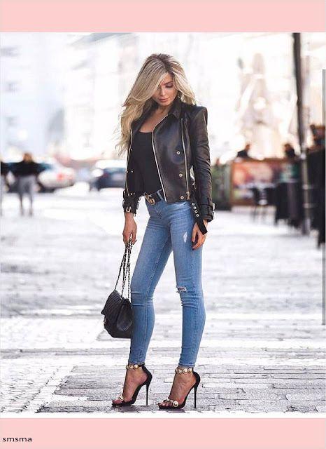 سمسمة سليم ملابس استايل كاجوال للبنات الشيك موضة خريف وشتاء 2 Outfit Ideen Klassische Outfits Outfit