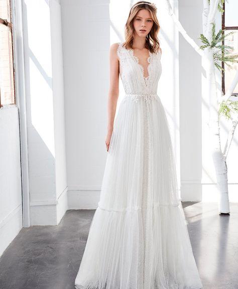 vestido de novia inmaculada garcía larimar - pattuka todo para tu