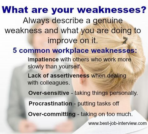 What are your weaknesses? Resume Interview Pinterest Job - resume interview questions