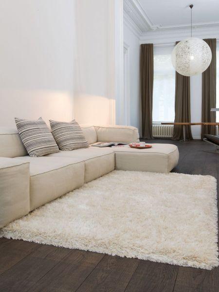 Os traemos la alfombra Himalaya en color marfil. Una