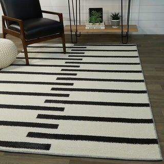Colter Modern Striped Area Rug In 2020