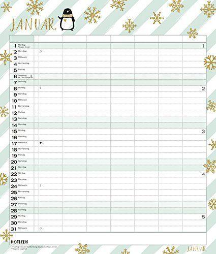 Multiplaner Time For Glamour 2018 Typo Art Familienplaner 7 Breite Spalten Schoner Familienkalender Mit Familienplaner Familienkalender Familien Kalender