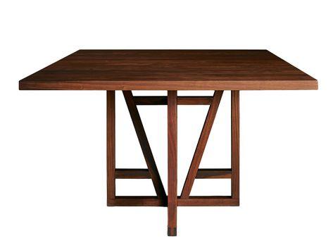 Design Vierkante Eettafel.Salzburg Vierkante Houten Eettafel Vierkante Eettafel