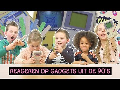 Kinderen Reageren Op Gadgets Uit De Jaren 90 » PrutsFM