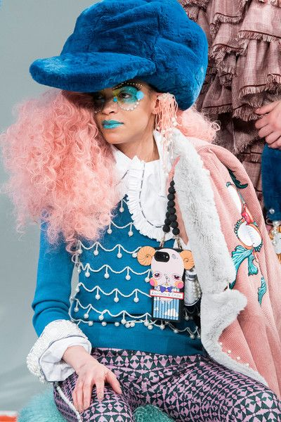 Laurence & Chico, Fall 2018 - The Most Dazzling Hair and Beauty Details From NYFW Fall 2018 - Photos