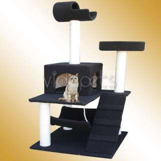 Wondrous 60 Black Cat Tree House Condo Scratcher Furniture Hall Download Free Architecture Designs Scobabritishbridgeorg