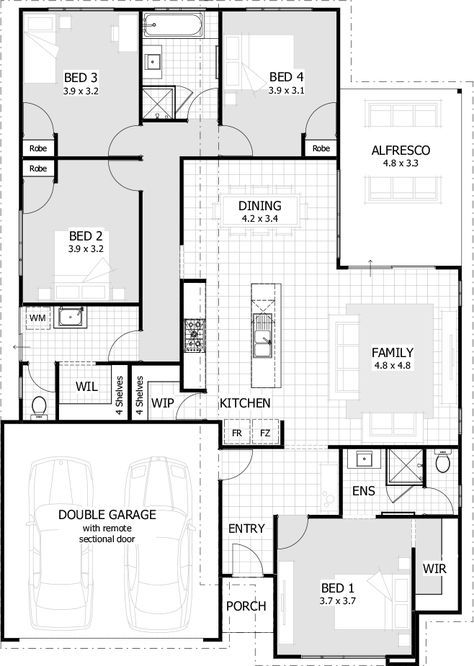 Over 35 Large Premium House Designs And House Southern House Plans House Plans Australia Craftsman Floor Plans