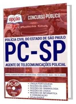 Apostila Policia Civil Sp 2018 Agente De Telecomunicacoes Policial