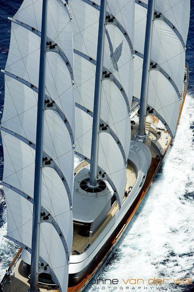Maltese Falcon We Saw This In Mahon Harbour Menorca A Couple Of Years Ago Beautiful Sailing Yacht Boat