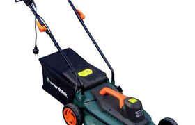 Tondeuse A Gazon Electrique 1800w 40cm Bac 40l Elem Garden Technic Tondeuse Gazon Gazon Bac